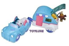 Zhu Zhu Pets Hamster CAR and CAMPER Play Set Add-On Accessories Toy NEW