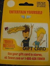 Tower Records - Gift Card - MTV's Beavis and Butt-Head