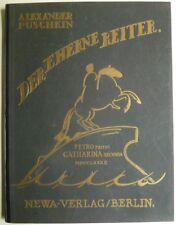 Alexander Puschkin, Der eherne Reiter, W. N. Masjutin, illustrierte Bücher,