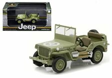 GREENLIGHT 1:43 1944 JEEP C7 U.S. ARMY Diecast Car Model Collection 86307