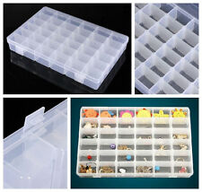 36 Slots Compartments Beads Jewellery Organizer Storage Box Legos mini Figure