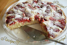 """☆Luscious & Moist!☆Almost-Summer Strawberry Cake """"RECIPE""""!☆Yummers!!! :)☆"""