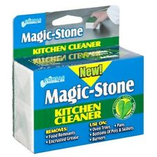 Compac Magic Stone Kitchen Cleaner Block Pumice - Cleans Cast Iron, Oven, Pans