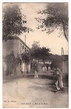 CPA ALGERIE - SIDI-AICH - RUE DE LA POSTE 1914