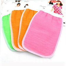 Hot Fashion Hot Sale Men Exfoliating Bath Shower Scrub Glove Towel Random Color