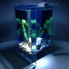 Nano Aquarium Komplettset SMARAGD, inkl. Deko, Dekoartikel, Dekorationsglas