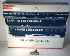 Hornby ~ R2946X - BR 4 VEP CLASS 423 TRAIN PACK - DCC FITTED - NEW BOXED RARE