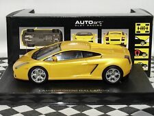 AUTOART LAMBORGHINI GALLARDO 13161  METALLIC YELLOW 1:32 NEW BOXED
