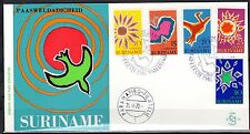 Suriname - 1970 Easter - Clean unaddressed FDC!