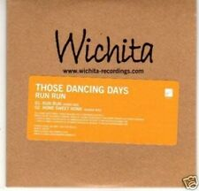 (G790) Those Dancing Days, Run Run - DJ CD