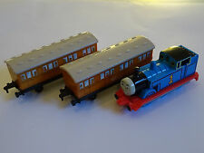 Thomas, Anne & Clarabel - ERTL - Thomas The Tank Engine And Friends - Toy Train