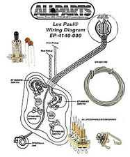 New Gibson Les Paul Wiring Kit