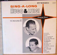 Hugo & Luigi And The Sing-along-ers Sing A Long Guest Star Records GS 1409
