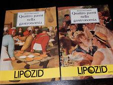 QUATTRO PASSI NELLA GASTRONOMIA Renato Spaccamonti Pierrel DOVE QUANDO ricette