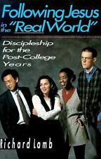 "Following Jesus in the Real World"": Discipleship for the Post-College Years"