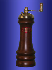 Handmade SOZEN Turkish Black Pepper Grinder Mill  Wood 15cm 6in Special Gift