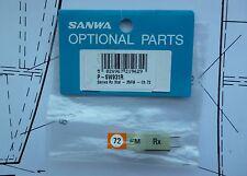 Genuine Sanwa 35mhz Receptor de FM Cristal RX canal 89 para Sanwa RC