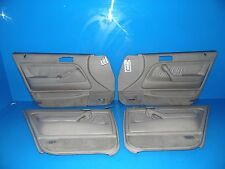 90-93 Honda Accord OEM door panels covers STOCK factory 4 door tan Ex SE