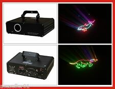 New 1W/1000mW RGB Full color DJ Disco Laser Stage Lighting Show Laser Projector