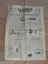 Le Canard Enchainé N° 2211 du 6 mars 1963 - Journal anniversaire 06 - 03 - 63