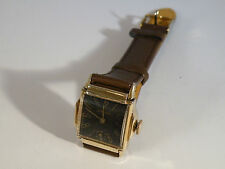 Vintage 1939 Longines, Black Dial,15 Jewel, Mans Watch, **SERVICED**