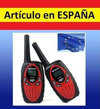 2x Walkie Talkie 2 canales radio wireless kit UHF larga distancia 1km LCD radio