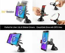 Turn-Lock Mechanism Car Windshield Dash Mount Holder for Samsung Galaxy J3 / S5