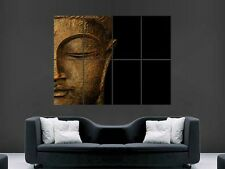 BUDDA STATUE  GIANT WALL POSTER ART PICTURE PRINT