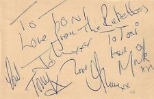 RUBETTES (SUGAR BABY LOVE) SIGNED AUTOGRAPHS
