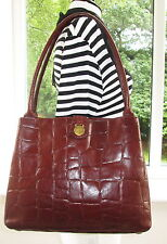 AUTHENTIC MULBERRY BROWN CONGO LEATHER  SHOULDER HAND BAG