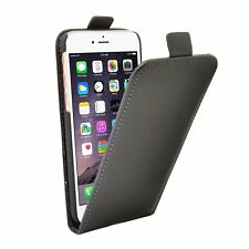 GENUINE LEATHER SLIM BLACK High Quality Mobile Phone Case For Apple iPhone 7