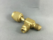 COMMERCIAL  FRIDGE  SERVICE  REPAIR BRASS ADAPTOR 1/4MX1/4mx1/4F