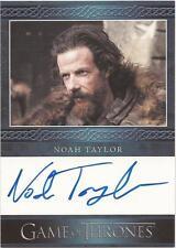"""GAME Of Thrones Stagione 3-Noah Taylor """"Locke"""" Auto/Carta di autografi"""