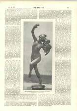 1896 Macmonnies Statue Boston Davy Faraday Laboratory