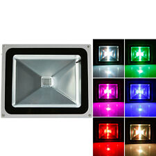 50W MEMORY Waterproof RGB LED Flood Light Landscape Light Remote Control