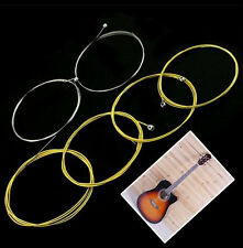 6 Pcs / Set 150XL (.012-.053) Extra Light Steel Useful Acoustic Guitar Strings