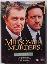 MIDSOMER MURDERS: Set 20 UK Acorn Media TV SHOW rare DVD SET
