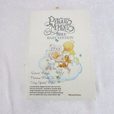 Precious Moments Bible Baby Edition 1989 King James Version Boxed