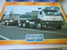 Super Trucks Baustellen LKW USA Mack Maxter 1994