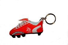 HOLLAND RED, KNVB LOGO FIFA SOCCER  WORLD CUP SHOE CLEAT KEYCHAIN .. NEW