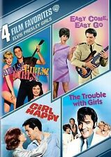 Girls Girls Girls/Easy Come Easy Go/Girl Happy/Trouble With Girls~New~Elvis