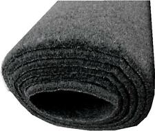 black car carpet  boot lining custom trim 1m x 2m mat matting T4 T5 VAN floor