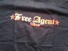 Free Agent Bikes t-shirt Med new Bmx KHS S&M Haro GT Redline racing Subrosa