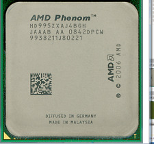 AMD Quad Core CPU Phenom X4 9950 2.6GHz Socket AM2