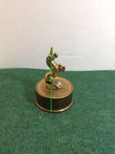 Solid Brass Mythical Unicorn Figurine Brass Sculpture On Brass Stand