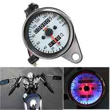 Led Backlight Daul Metric Odometer Speedometer Odograph Speed Gauge For Yamaha