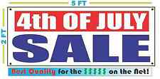 4th OF JULY SALE Banner Sign NEW XXL Size Best Quality for the $$$$ RW&B