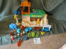 Fisher Price Little People Play Family Zoo Animals Mom Dad train Picnic 916 I