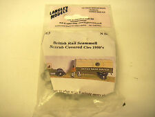 Langley Models E3 British Rail Scammell Scarab Covered - N Gauge Tin/Lead Alloy