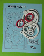 Zaccaria Moon Flight pinball rubber ring kit